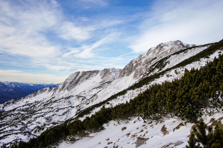 Den Gipfel immer im Blick kommt man seinem Ziel immer näher.