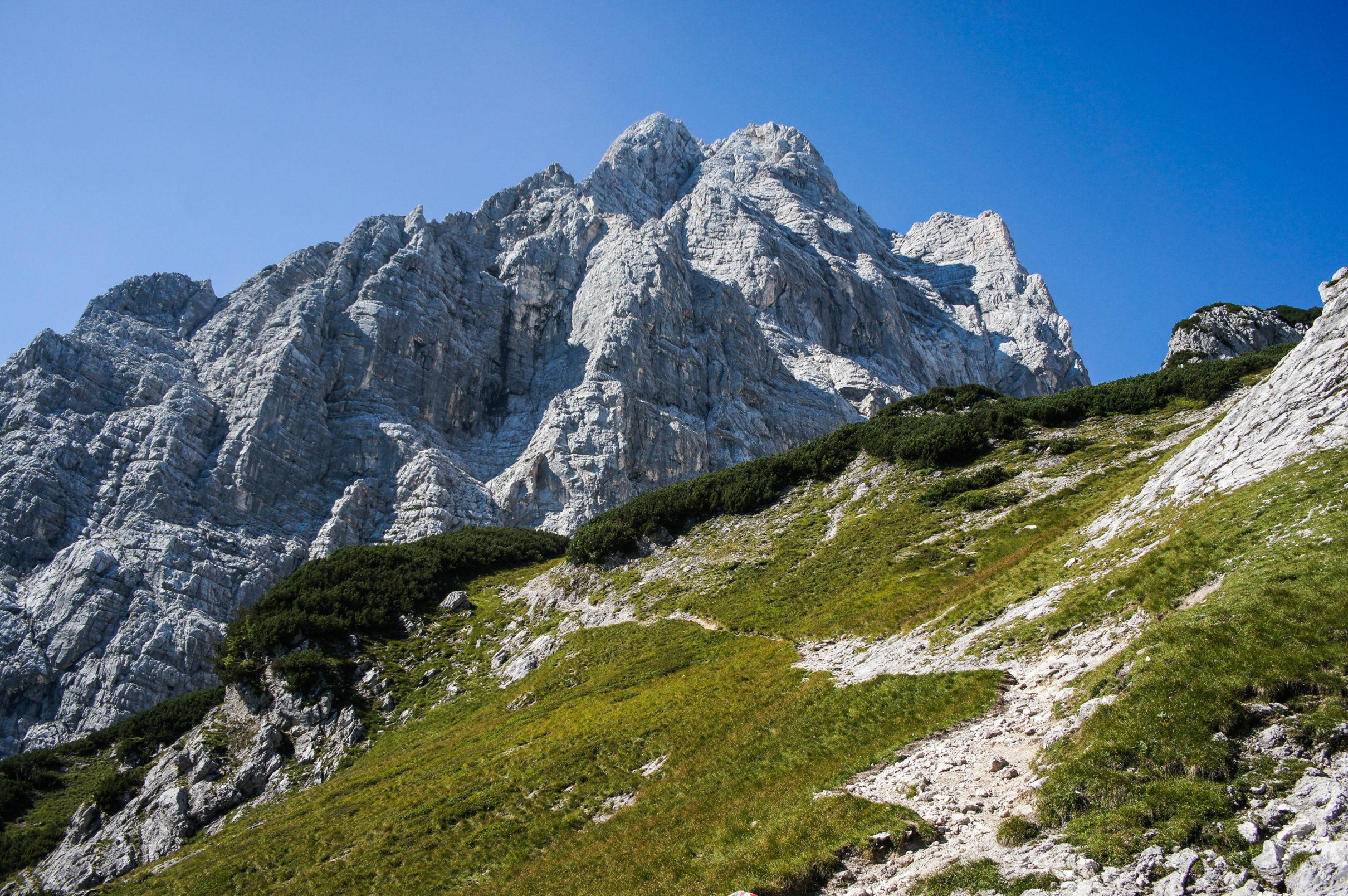 Klettersteig Leopoldsteinersee : Heli kraft klettersteig am hochkar
