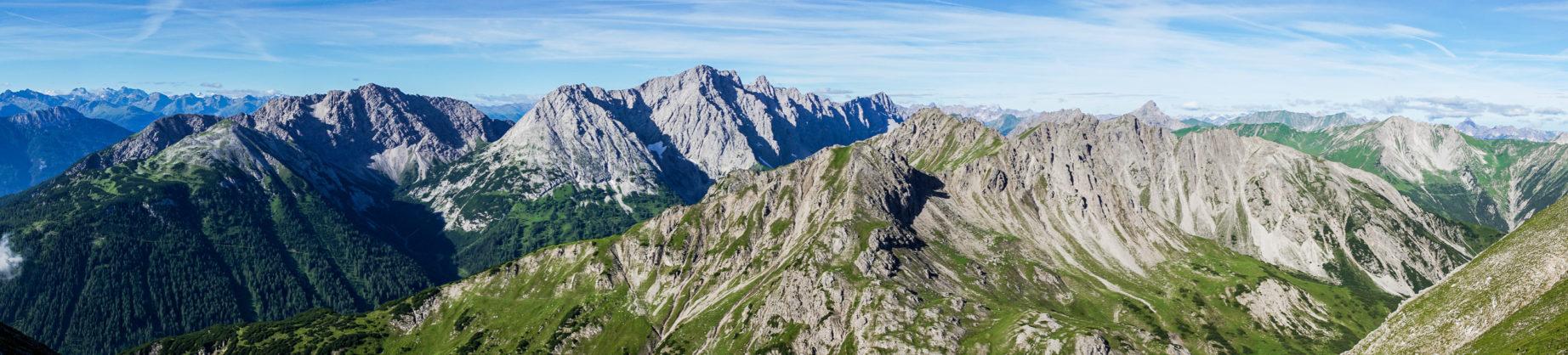 Das Panorama von der Lorea-Scharte