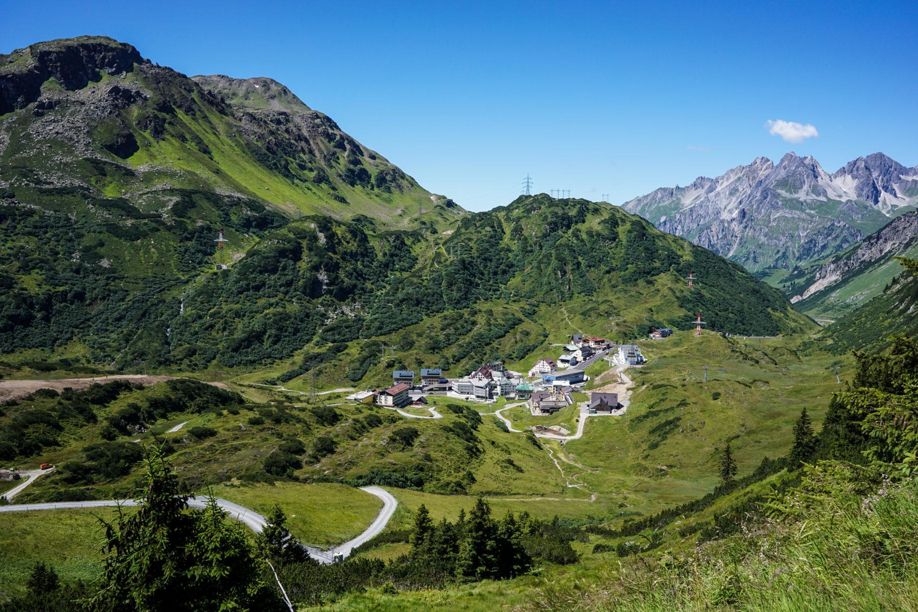 Das Ziel ist zum Greifen nah: St. Christoph am Arlberg