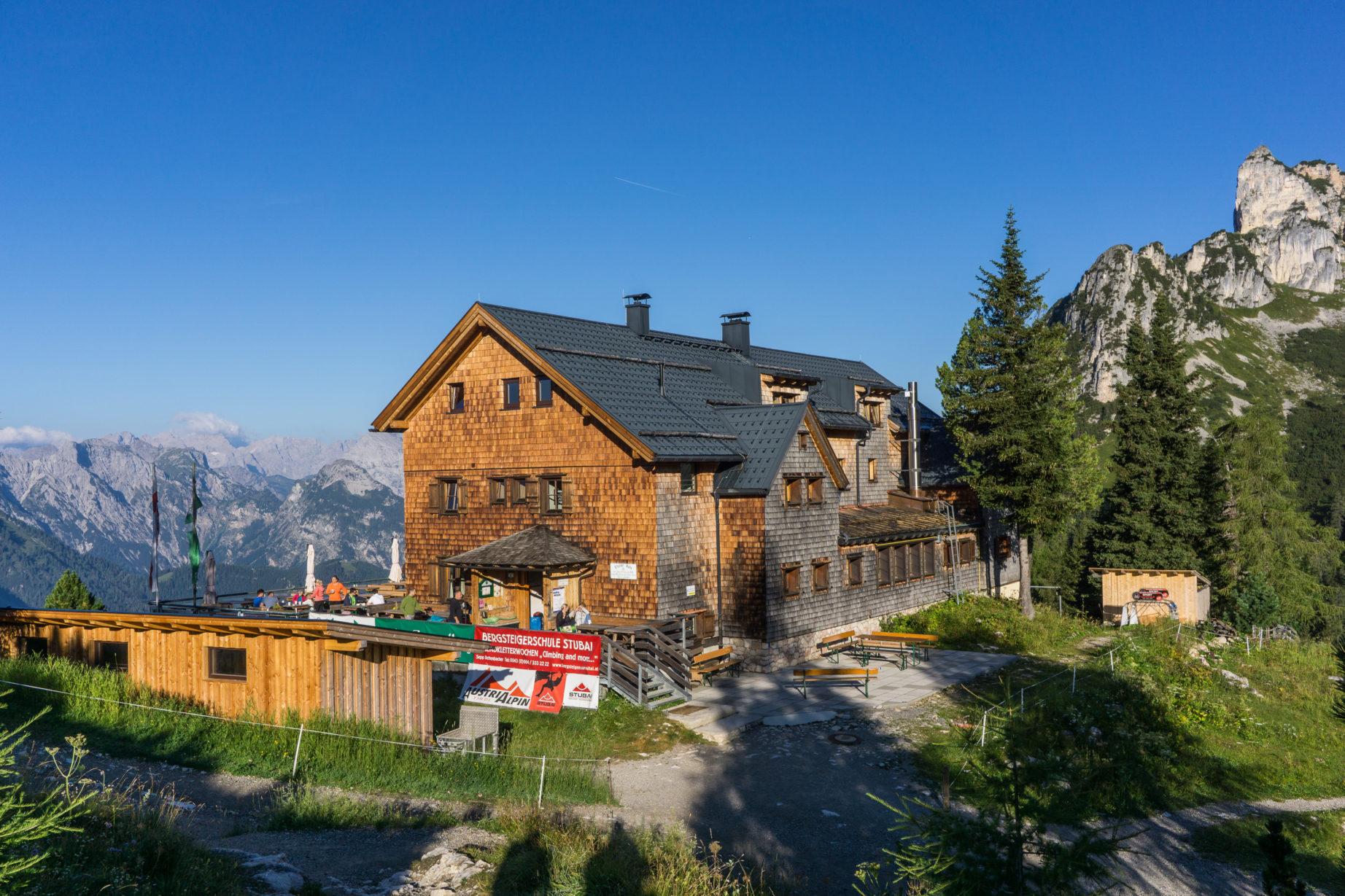 Klettersteig Achensee : Gipfel klettersteig achensee